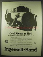 1922 Ingersoll-Rand Little David Hammers Ad - Rivets