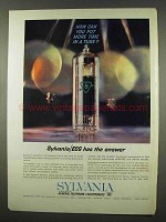 1962 Sylvania Electronic Components Group Ad - Tube