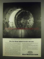 1962 Airco Nitrogen Ad - Duplicates Cold of Outer Space