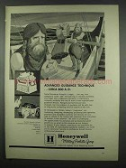 1962 Honeywell Military Products Ad - Advanced Guidance