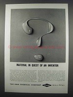 1962 Dow Chemical Ad - In Quest of An Inventor