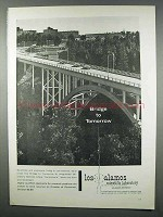 1962 Los Alamos Scientific Laboratory Ad - Tomorrow