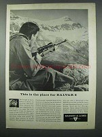 1962 Bausch & Lomb Balvar 8 Scope Ad - The Place For
