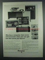 1962 Recomp III Computer Ad - Saves You Hours