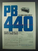 1962 Packard Bell PB440 Computer Ad - Common-Language