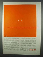 1962 NCR Photochromic Micro-image, Encapsulation Ad