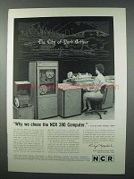 1962 NCR 390 Computer Ad - The City of Port Arthur