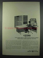 1962 General Electric GE-225 Computer Ad - $2390