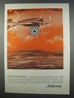 1962 Allison of General Motors Ad - Turbo Prop Power
