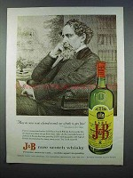 1962 J&B Scotch Ad - May We Never Want a Friend in Need