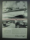 1963 Chris-Craft 52-ft. Constellation Boat Ad