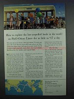 1962 P&O Orient Lines Cruise Ad - Last Unspoiled Lands