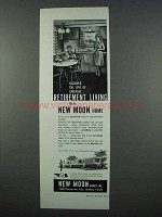 1962 New Moon Mobile Home Ad - Retirement Living