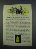 1962 Murine Eye Drops Ad - Switch of a Horse Tail