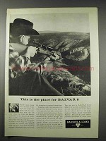 1961 Bausch & Lomb Balvar 8 Scope Ad
