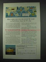 1961 P&O-Orient Lines Cruise Ad - Plan Your Trip