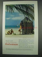 1961 Bahamas Tourism Ad - Harbour Island
