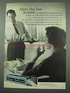 1961 Alka-Seltzer Tablets Ad - After The Fun Is Over