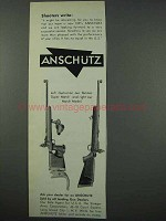 1961 Anschutz Super Match, Match Rifle Ad - Shooters