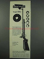1961 Anschutz Match Rifle Model 1411 Ad - Target Rifles
