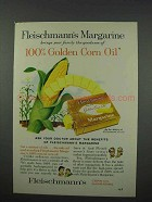 1961 Fleischmann's Corn Oil Margarine Advertisement
