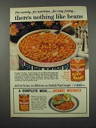 1961 Van Camp's Pork and Beans Ad - Nothing Like