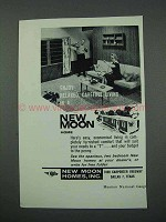 1961 New Moon Homes Ad - Relaxed, Carefree