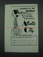 1961 Atlantic City New Jersey Tourism Ad!