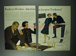 1961 Pendleton Woolen Clothes Ad - Great Northwest
