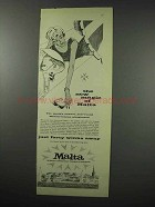 1960 Malta Tourism Ad - New Magic of Malta