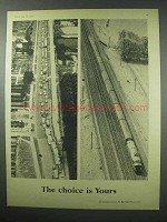1960 British Railways Ad - The Choice is Yours