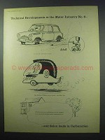 1960 Solex Carburator Ad - Technical Developments No. 6
