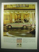 1960 Austin A99 Westminster Car Ad - Looks Ahead