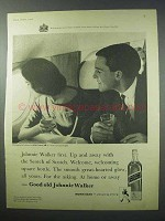 1960 Johnnie Walker Scotch Ad - Johnnie Walker First