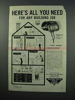 1960 Millers Falls No. 888 Power Unit Tool Ad!
