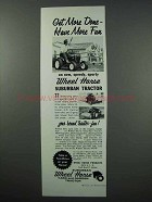 1960 Wheel Horse Suburban Tractor Advertisement - Get More Done