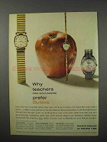 1960 Bulova Lexington, Dolly Madison, 23 Watch Ad