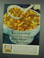 1960 Dinty Moore Beef Stew Ad - Wonderful Meal