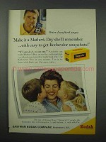 1960 Kodak Kodacolor Film Ad - Mother's Day