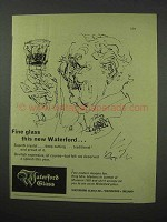 1960 Waterford Glass Ad - Fine Glass This Waterford