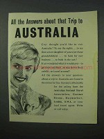 1960 Australia Tourism Ad - Answers About that Trip