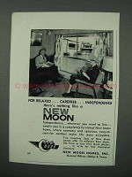 1960 New Moon Mobile Home Ad - Carefree Independence