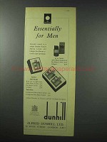 1959 Dunhill After-Shave, Cologne Ad - For Men