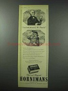 1959 Hornimans Tea Ad - You Look Pleased, Mr. Punch
