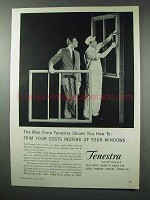 1959 Fenestra Windows Ad - Trim Your Costs