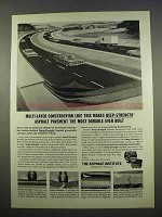 1963 The Asphalt Institute Ad, Multi-Layer Construction