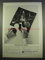 1963 Jet Propulsion Laboratory Caltech Ad - Pieces