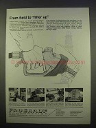 1963 Fruehauf Trailers Ad - Oil Field Float, Platform