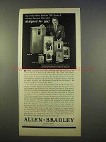1963 Allen-Bradley Ad - Bulletin 709 Series K Starters - For You