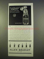 1963 Allen-Bradley Ad - Bulletin 802T Limit Switch